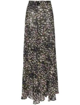 Floral Print Maxi Skirt by Ganni