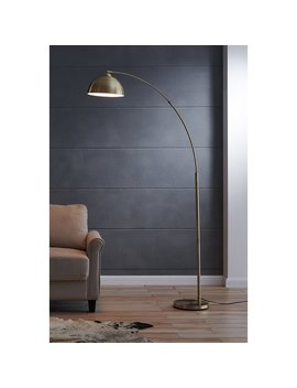 """Pulaski 79"""" Arched Floor Lamp by Wrought Studio"""
