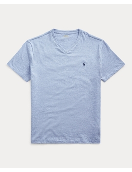 Classic Fit V Neck Tee by Ralph Lauren