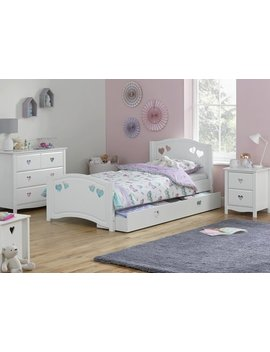 Argos Home Mia White Single Bed Frame by Argos