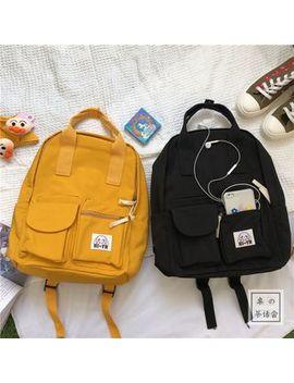 Chestnut Party   Nylon Backpack by Chestnut Party