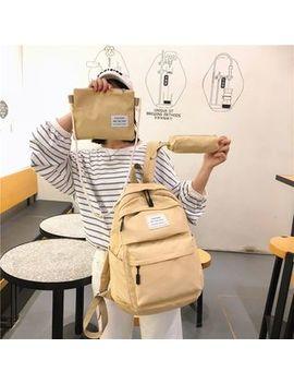 Beebird    Set: Lightweight Zip Backpack + Pouch by Beebird
