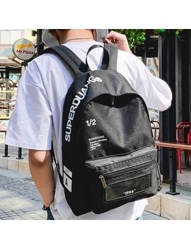 Sunman   Lettering  Lightweight Backpack by Sunman