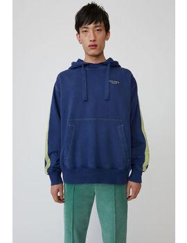 Hooded Sweatshirt Ink Blue by Acne Studios