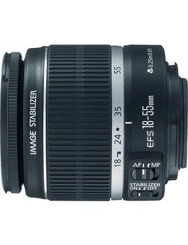 Ef S 18 55mm F/3.5 5.6 Is Ii Standard Zoom Lens   Black by Canon