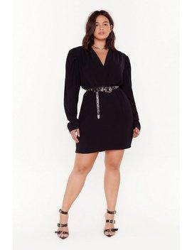 Take It To The Extreme Plus Mini Dress by Nasty Gal