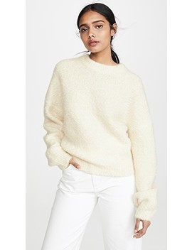 Baden Fuzzy Cashmere Sweater by Le Kasha
