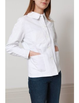 Vetra Workwear Jacket   White by Garmentory