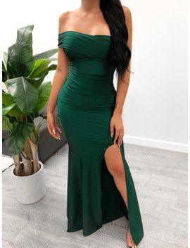 Tana Dress (Emerald) by Laura's Boutique