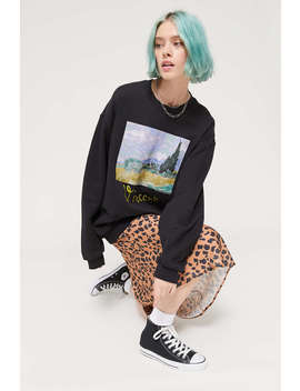 Vincent Van Gogh Crew Neck Sweatshirt by Urban Outfitters