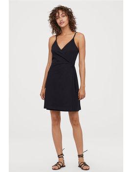 Vestido Traçado Mistura Modal by H&M