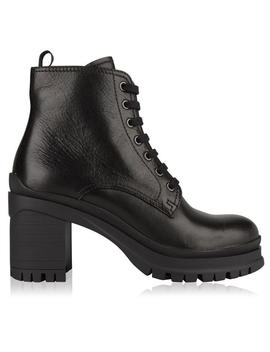 Leather Ankle Boots by Prada