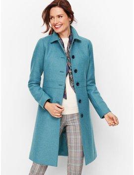 Italian Wool Lady Coat by Talbots