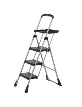 4 Ft. Steel Max Work Platform Ladder With 225 Lbs. Load Capacity by Cosco