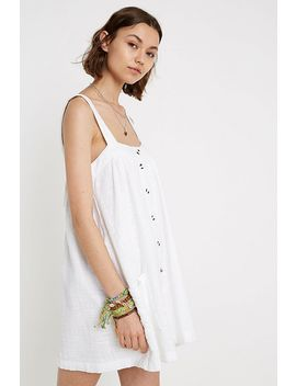 Uo Sianna Pockets Mini Dress by Urban Outfitters