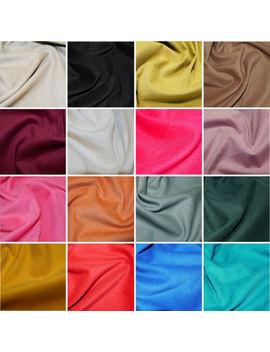 Plain 21 Wale Cotton Corduroy Fabric John Louden Soft Needlecord 140cm Wide by Ebay Seller