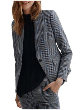 Double Cloth Print Blazer by Country Road
