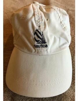 Vintage Nautica Hat 1990s   White by Nautica