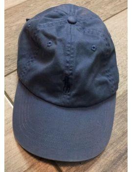 Polo Ralph Lauren Vintage Hat Cap Adult Adjustable Strap Back Blue Fast Shipping by Ralph Lauren