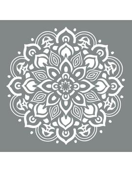 Americana Decor 10 In. X 10 In. Mandala Stencil by Deco Art