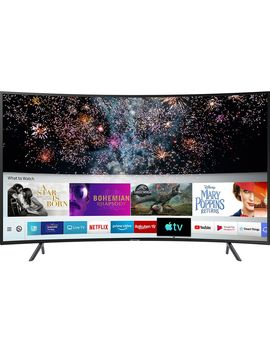 "Ue49 Ru7300 Kxxu 49"" Smart 4 K Ultra Hd Hdr Curved Led Tv by Currys"