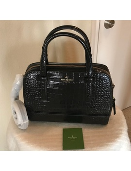 Nwt Kate Spade Croc Embossed Leather Satchel Nwt/New by Kate Spade