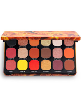 Flawless Forever Fire Eyeshadow Palette by Makeup Revolution