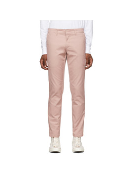 Pink Rinsed Sid Trousers by Carhartt Work In Progress
