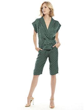 Beacon Sleeveless Blazer Top by New York & Company