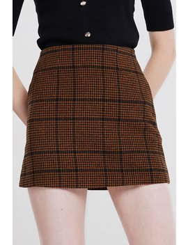 Peggy Plaid Skirt 2 Colors by Storets