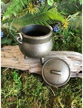 "3.5"" Cast Iron Cauldron   Potions, Spells, Witchy, Altar, Incense, Wiccan, Wicca, Pagan, Witchcraft, Candle, Planter by Etsy"