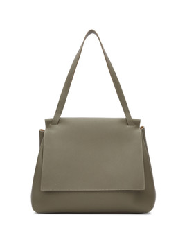 Taupe Sidekick Two Bag by The Row