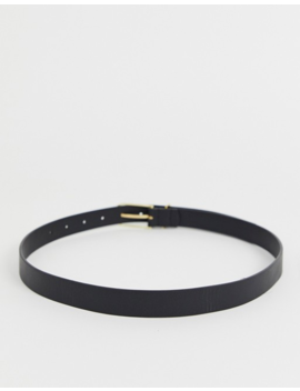 Asos Design Fine Oblong Clean Waist And Hip Jeans Belt by Asos Design