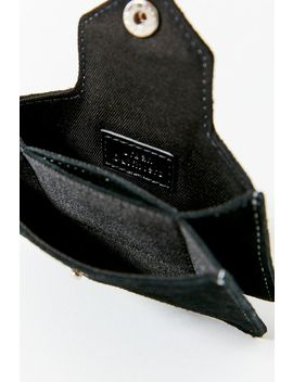 Pop Stitch Suede Wallet by Urban Outfitters