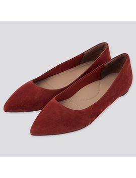 Zapatos Planos Punta Mujer by Uniqlo