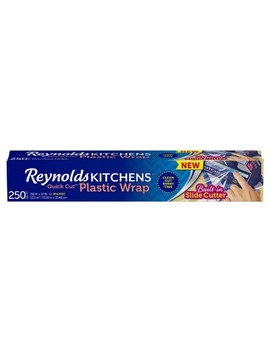 Reynolds Kitchens Quick Cut Plastic Wrap   250 Sq Ft by 250 Sq Ft