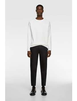 New Cropped Chinos Chinos Pants Man by Zara