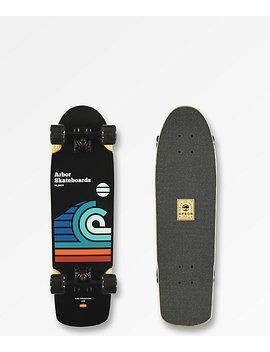 "Arbor Pilsner Draplin Artist 29"" Cruiser Complete Skateboard by Arbor Longboards"
