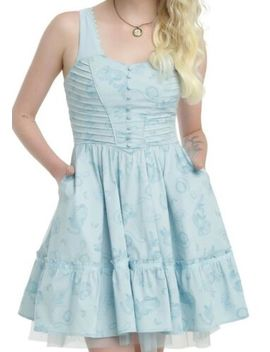 Disney Alice Through The Looking Glass Exclusive Tea Party Dress Sz Md Nwt by Disney For Hot Topic