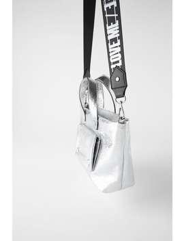 Metallic Mini Tote Bagswoman Shoes & Bags by Zara