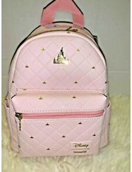 Disney Days Castle Sleeping Beauty Aurora Pink Mini Backpack Loungefly Nwt by Loungefly