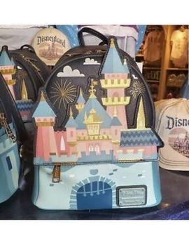 2019 Disney Parks New Disneyland Auroras Castle Loungefly Mini Backpack by Disney
