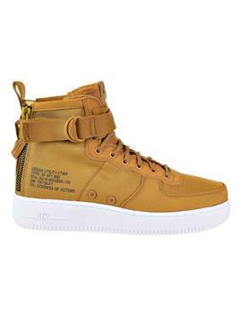 Nike Sf Air Force 1 Mid Men's Shoes Desert Ochre/Sequola White 917753 700 by Nike