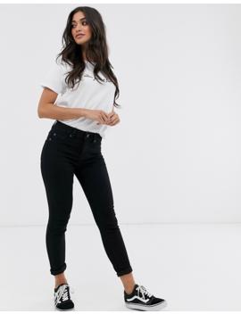 New Look Petite Skinny Jean In Black by New Look