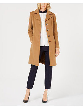 Single Breasted Walker Coat, Created For Macy's by General