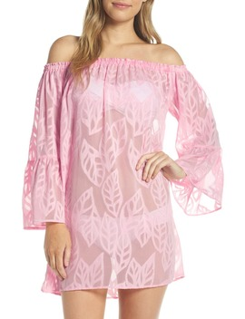 Lilly Pullitzer® Nevie Off The Shoulder Cover Up Dress by Lilly Pulitzer®