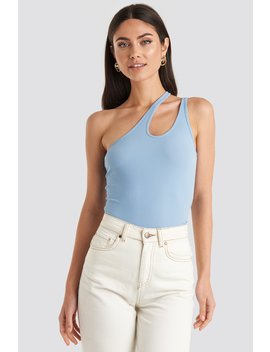 Side Striped Top Blue by Na Kd Trend
