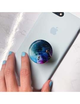 Custom Alcohol Ink Phone Grips / Universal Phone Grips / Cute Universal Grip Accessories For Smarphones, Tablets, Etc. by Etsy