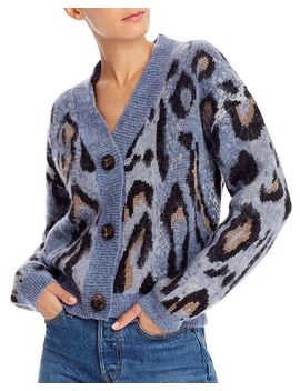 Animal Print Cardigan Sweater   100% Exclusive by Aqua