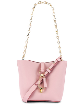 Belay Mini Hobo Crossbody In Woodrose by Zac Zac Posen